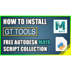 GT Tools 1.4.6 for Maya (maya script)