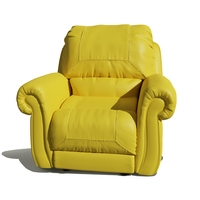Single Seater comfortable sofa 3D Model
