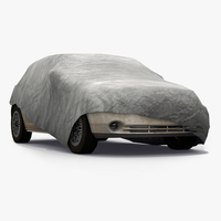 Covered Car 3D Model