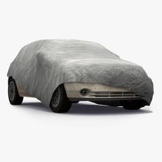 Covered Car 3D Model