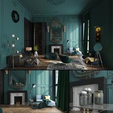Paris Luxury House 3D Model