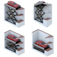 Car lift 1 3D Model