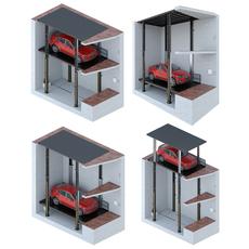 Car lift 3 3D Model