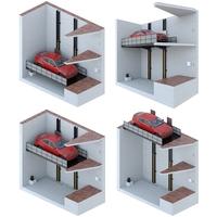 Car lift 5 3D Model