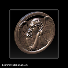 Angel relief 3D Model