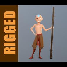 Aang (Rig) 1.0.5 for Maya