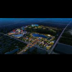 Amusement park 003 3D Model