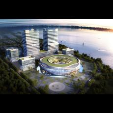 Office buildings 018 3D Model