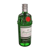 Tanqueray 70cl Bottle 3D Model