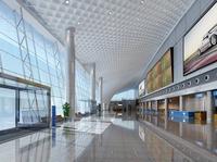 Airport Interior 03 3D Model