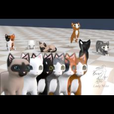 Chibi cat V1.0 3D Model
