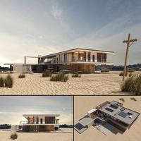 Hawke's Bay Villa 3D Model