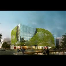 Office buildings 039 3D Model