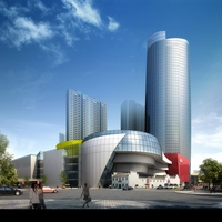 Skyscraper business center 143 3D Model