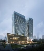 Skyscraper business center 147 3D Model