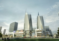 Skyscraper business center 151 3D Model
