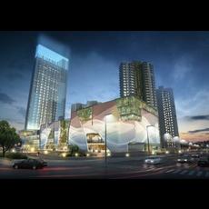 Skyscraper business center 155 3D Model