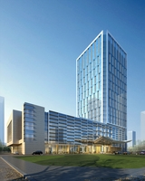 Skyscraper Office Building 108 3D Model
