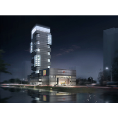Skyscraper Office Building 109 3D Model