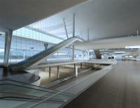 Airport Interior 02 3D Model