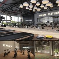 Fitness Gym Center 3D Model