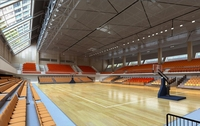 Basketball Gym 011 3D Model
