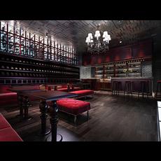 Bar Space 006 3D Model