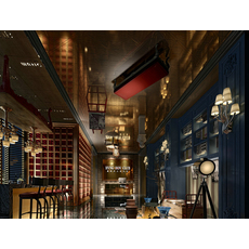 Bar Space 013 3D Model