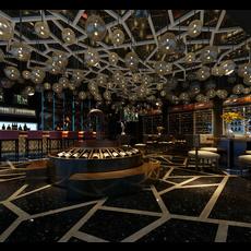 Bar Space 014 3D Model