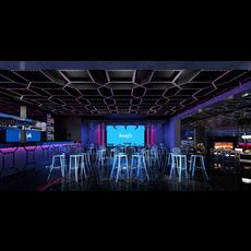 Bar Space 018 3D Model