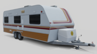 Karmann Guia Kc 640 3D Model