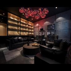 Bar Space 024 3D Model
