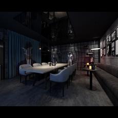 Bar Space 026 3D Model