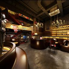 Bar Space 030 3D Model
