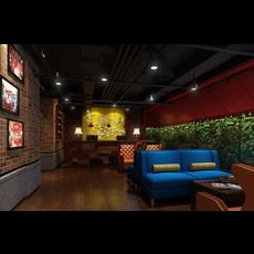 Bar Space 032 3D Model