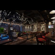 Bar Space 033 3D Model