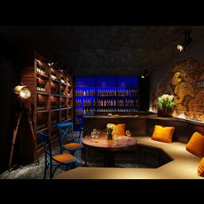 Bar Space 036 3D Model