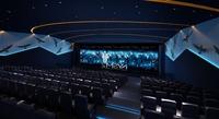 Cinema space 001 3D Model