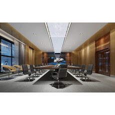 Conference  Space 041 3D Model