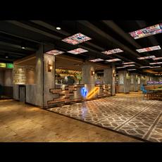 Internet cafe Space 005 3D Model