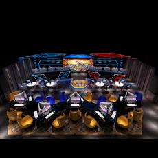 Internet cafe Space 028 3D Model