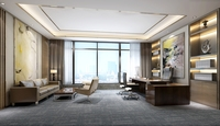 Office Space 006 3D Model