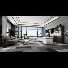 Office Space 011 3D Model
