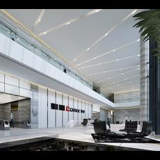 Office Space 013 3D Model