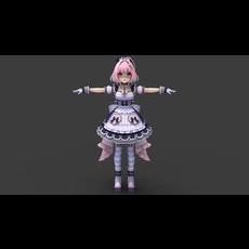 Riamu Yumemi 3D Model
