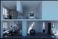 Office Space 019 3D Model