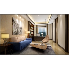 Office Space 022 3D Model