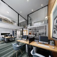 Office Space 031 3D Model