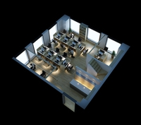 Office Space 032 3D Model