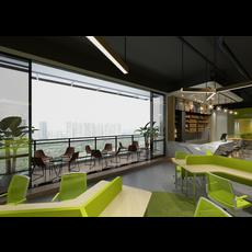 Office Space 046 3D Model